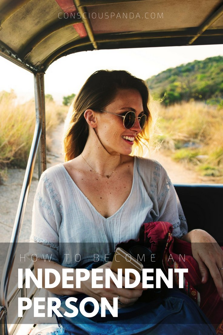 How to become an independent person 2