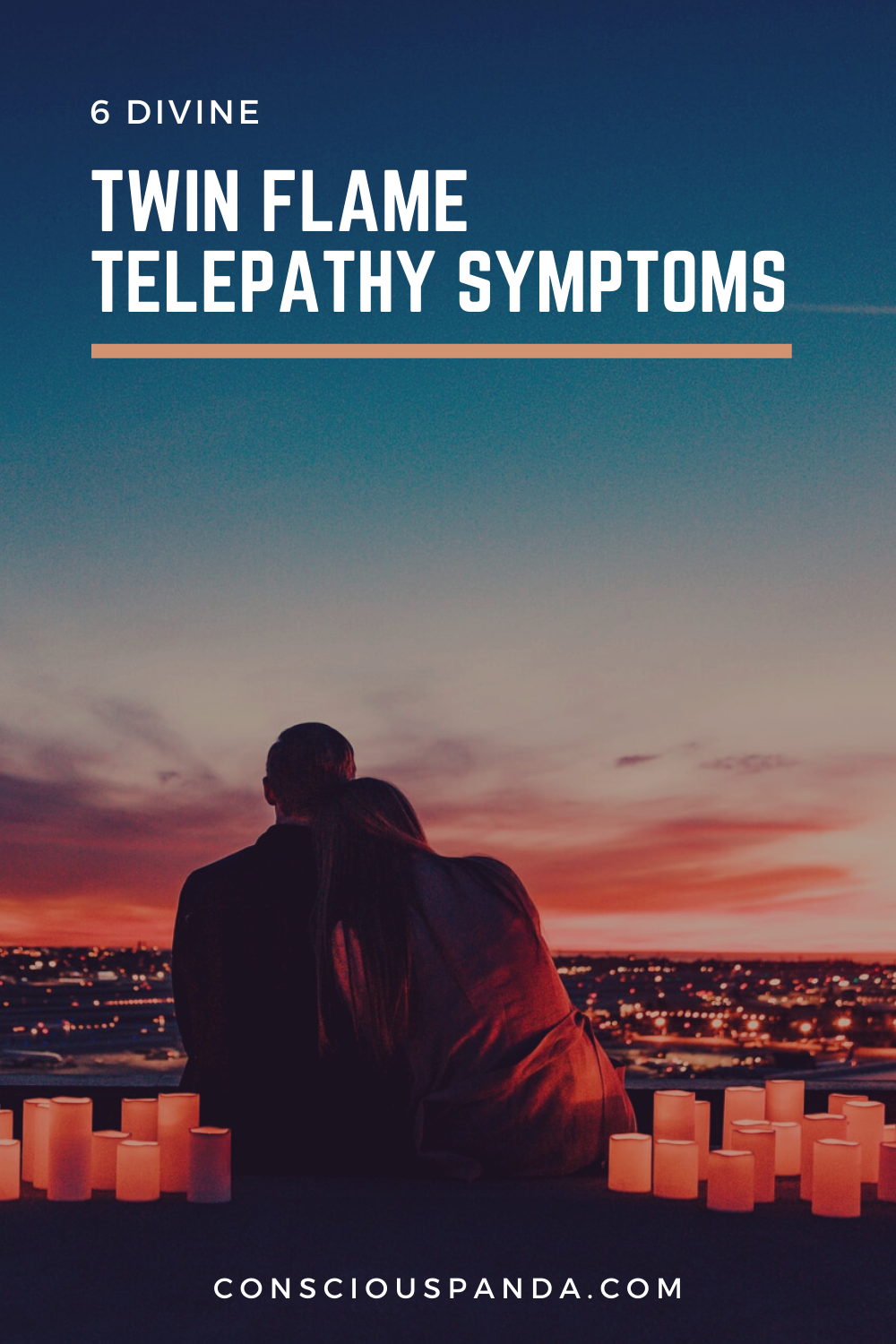 6 Divine Twin Flame Telepathy Symptoms